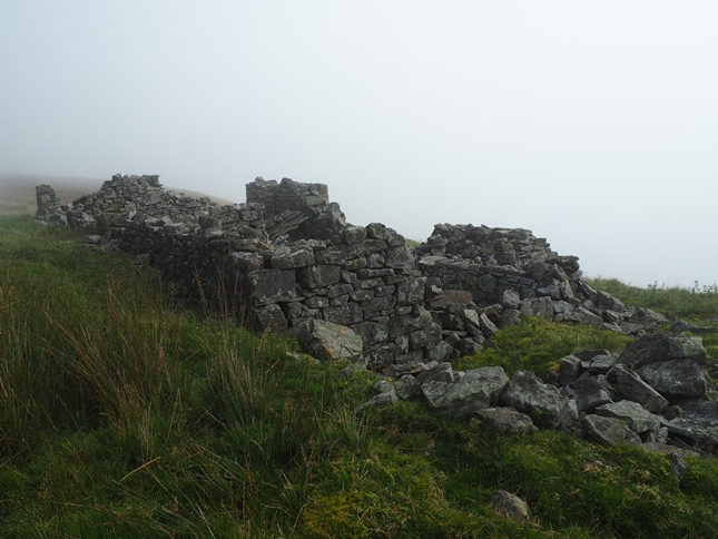 The remains of High Shop