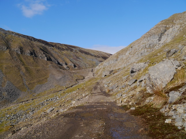 The path leading to the head of Great Rundale