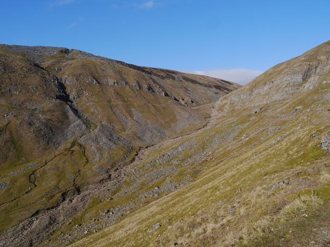 The dramatic upper reaches of Great Rundale