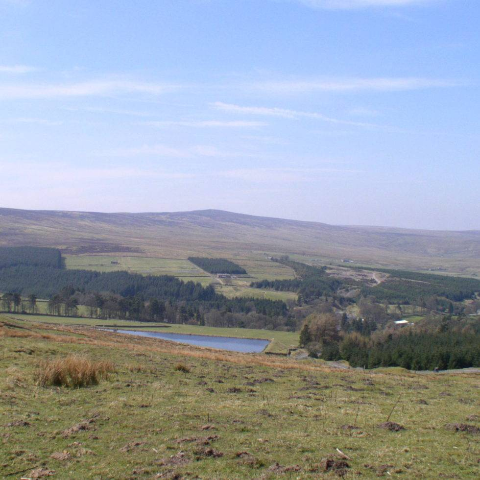 Killhope Law from Faw Side