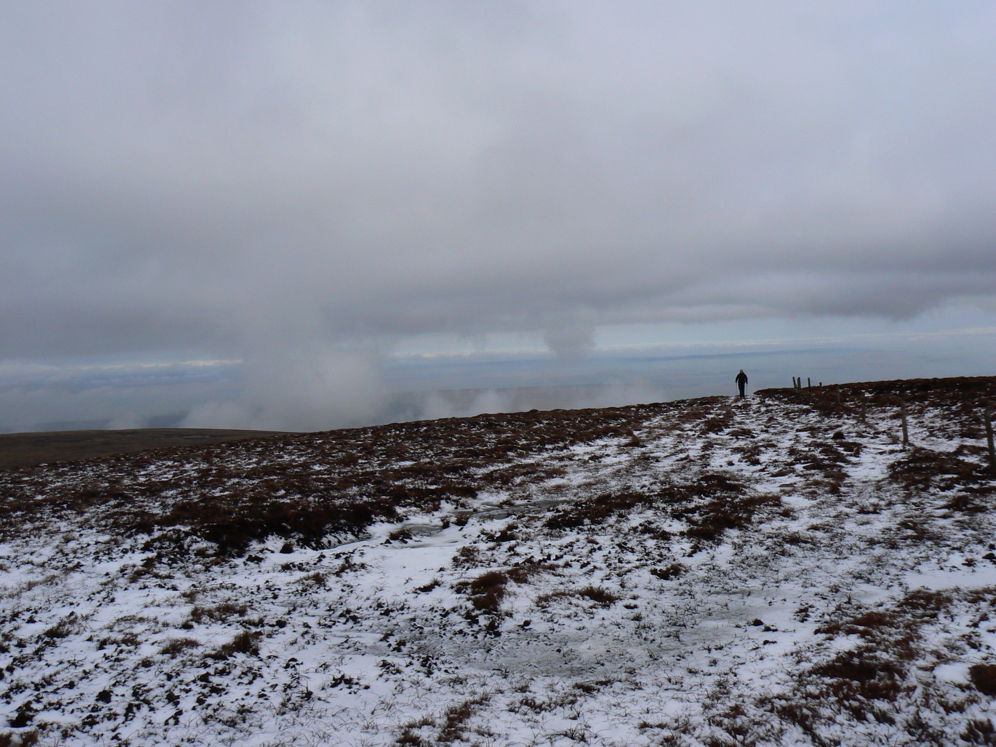 On Cold Fell in winter