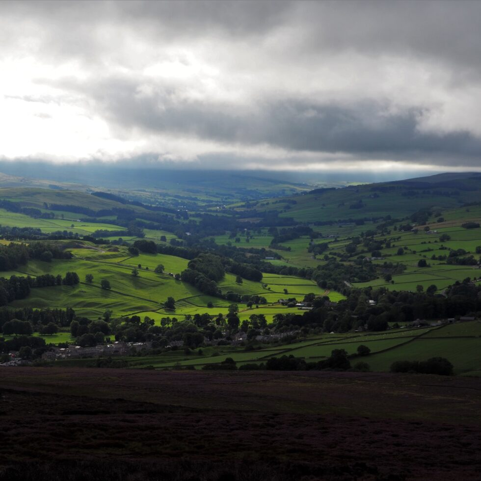 Weardale from Fatherley Hill