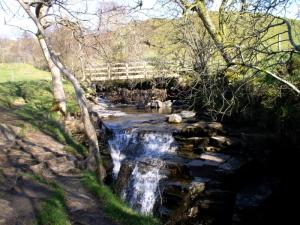 Ashgill Beck and Low Ashgill Bridge