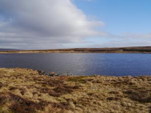 Another view of Great Rundale Tarn