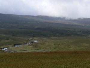 The Tees backed by Cross Fell