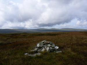 The cairn on Viewing Hill, the highest point on Herdship Fell