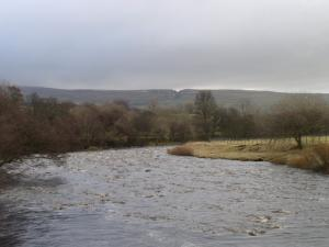 The River Tees looking towards Coldberry Gutter