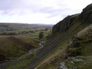 Holwick Scar and Scar Beck