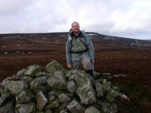 By the cairn on Hagworm Hill