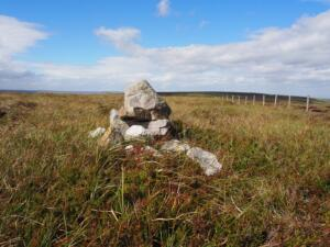 The small cairn on Fendrith Hill