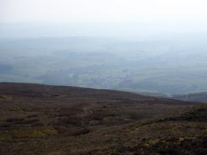 The Eden Valley was covered in a thick haze