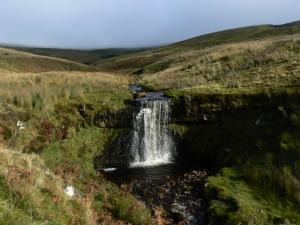 A nice little waterfall on Stockdale Beck