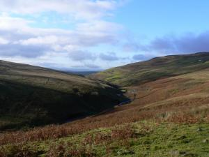The valley of Croglin Water