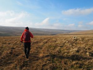 Heading up the valley of Bollihope
