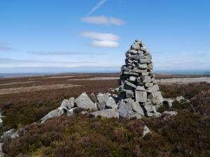 The large currick on the top of Knockshield Moor