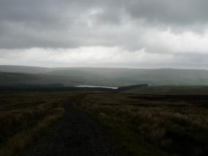 Looking back down Grasshill Causeway