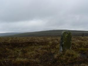 The boundary stone on Three Pikes