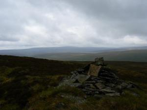 A cairn on Three Pikes