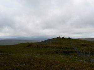Approaching the top of Great Stony Hill