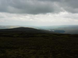 Looking down to Weardale from Dead Stones