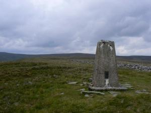 The trig point by Highwatch Currick