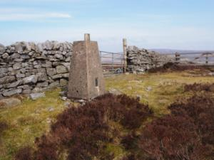 The Cumrew Fell trig point