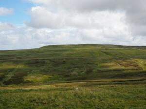 Looking across Cash Burn towards Long Man Hill