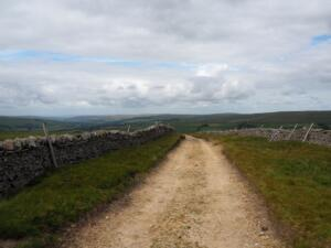 Making my way back down the Pennine Way