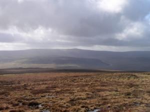 Looking across Teesdale towards Mickle Fell and Cronkley Fell