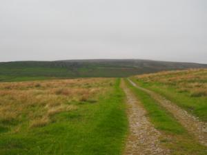 The track leading towards High Hurth Edge