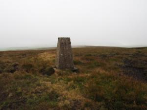 The Fendrith Hill trig point