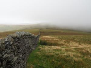 Passing low cloud on Dora's Seat