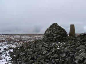 The summit of Cold Fell