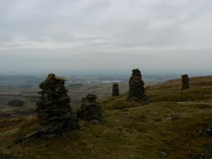 Some more of the Talkin Fell cairns
