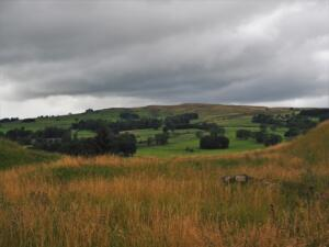 An early view of Crow Coal Hill