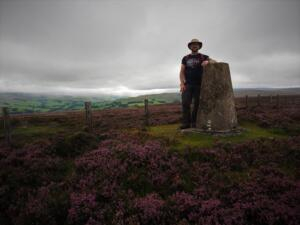By the trig point on Collier Law