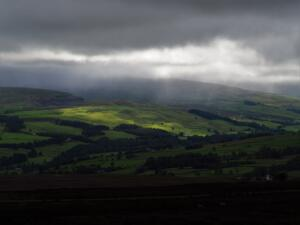 Another dramatic patch of light