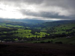 Another view of Weardale as I descended Fatherley Hill