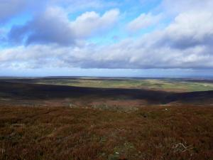 The moors above Blanchland