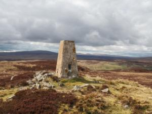 The Thistle Green trig point