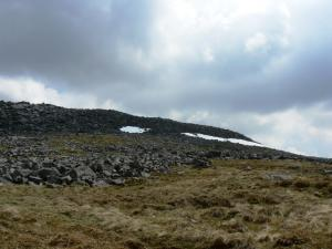 Nearing the top of Cross Fell