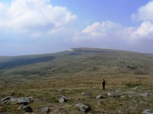 Looking back at Cross Fell