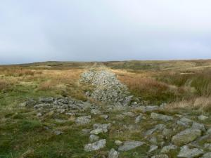 Following the line of the flue of the Rookhope Chimney