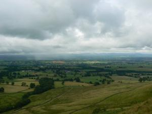 Looking down to Dufton