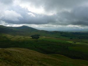 Looking south towards Murton Pike