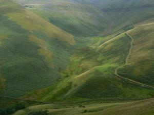 The view down to Great Rundale Beck