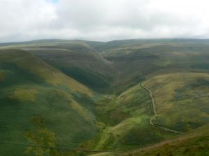 Great Rundale from Dufton Pike