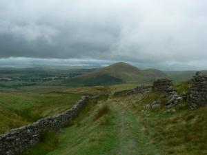 Looking back at Knock Pike