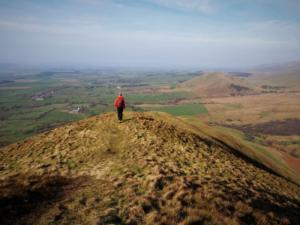 On my way down Dufton Pike's north-west ridge