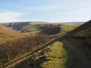 Following the path in Great Rundale